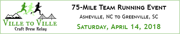 Ville To Ville Craft Brew Relay
